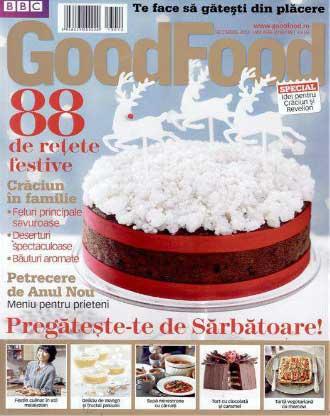 Good Food Romania ~~ 88 de retete festive ~~ Decembrie 2013 - Ianuarie 2014