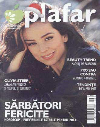 Revista Plafar ~~ Pro sau contra: Alimente congelate ~~ Decembrie 2013