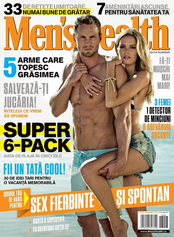 Revista Men\'s Health Romania ~~ Iulie-August 2013