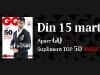 Promo GQ Romania ~~ Supliment TOP 50 BARBATI CU STIL ~~ Primavara 2013