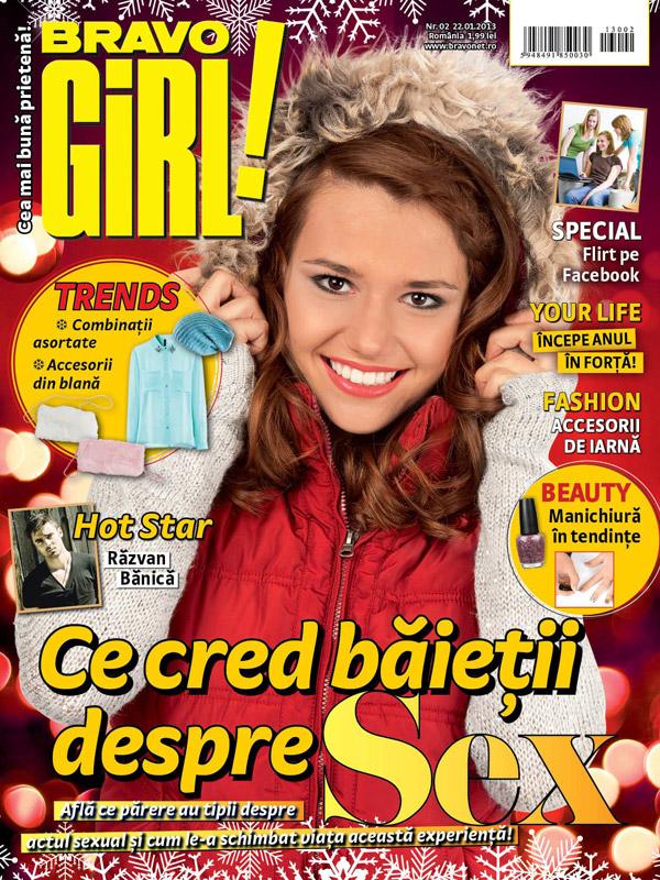 BRAVO GIRL! ~~ Ce cred baietii despre sex ~~ 22 Ianuarie 2013
