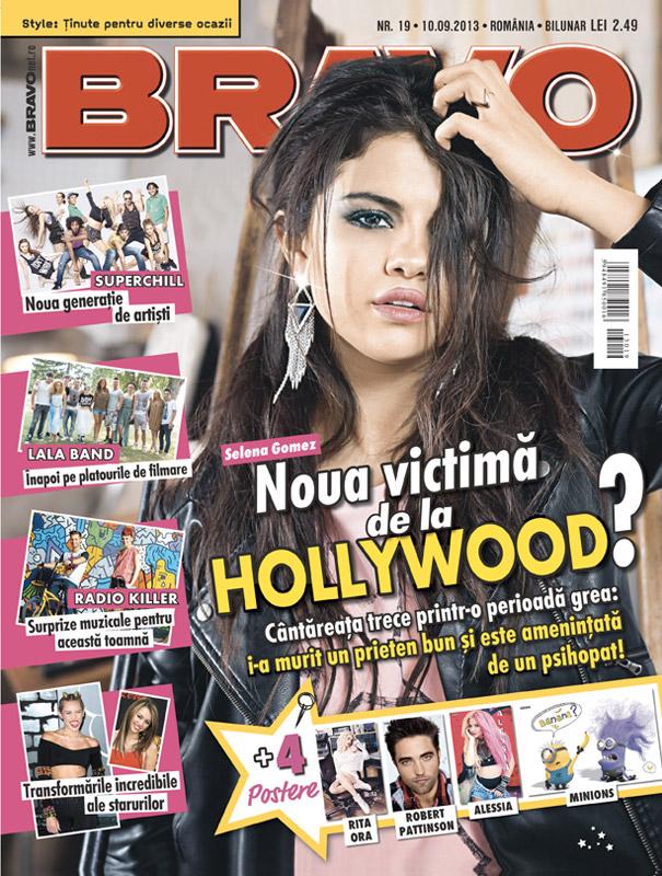 BRAVO! ~~ Coperta: Selena Gomez ~~ 10 Septembrie 2013