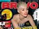 BRAVO Romania ~~ Cover girl: Miley Cyrus ~~ 13 August 2013