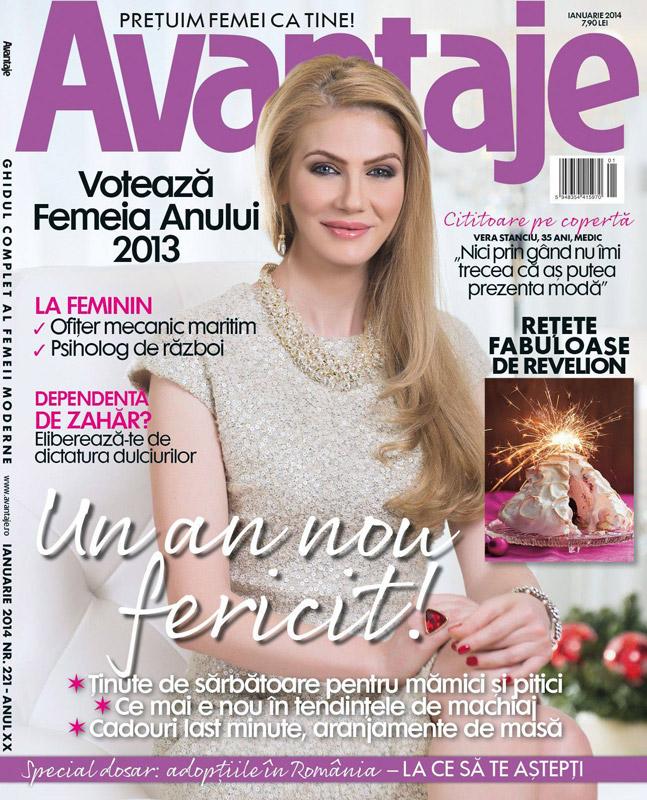 Avantaje Romania ~~ Coperta: Vera Stanciu ~~ Ianuarie 2014