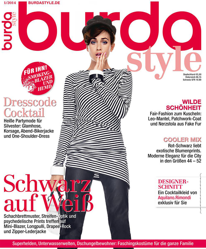 Burda Style Germania ~~ Ianuarie 2014