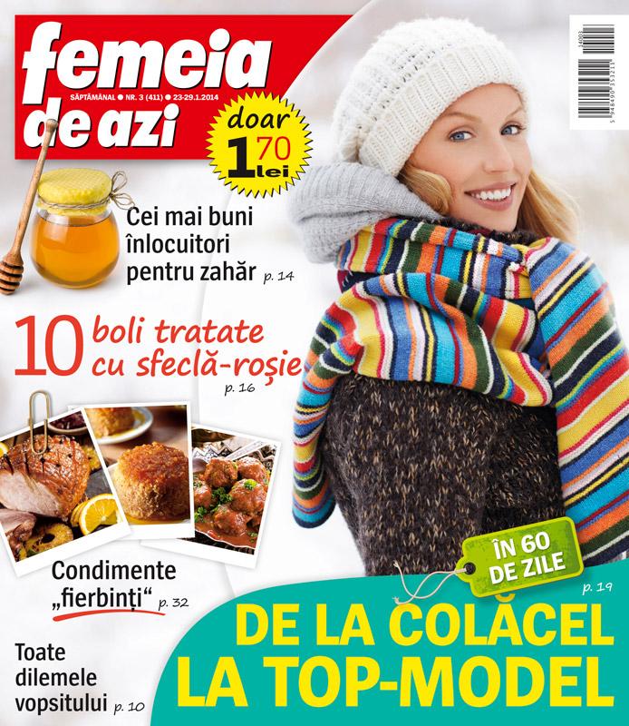 Femeia de azi ~~ Condimente fierbinti ~~ 23 Ianuarie 2014