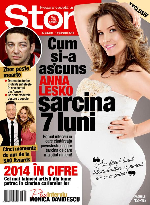 Story Romania ~~ Coperta: Anna Lesko ~~ 30 Ianuarie 2014