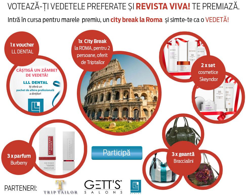 Concurs revista VIVA! ~~ Voteaza vedetele preferate ~~ Ianuarie-Februarie 2014