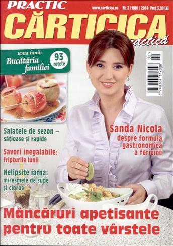 Carticica Practica ~~ Coperta: Sanda Nicola ~~ Februarie 2014
