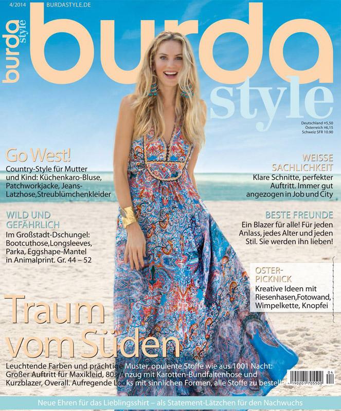 Burda Style Germania ~~ Aprilie 2014