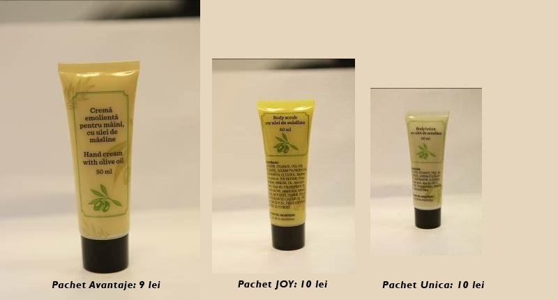 Produse cosmetice pe baza de ulei de masline, cadou la diverse reviste ~~ Mai 2014
