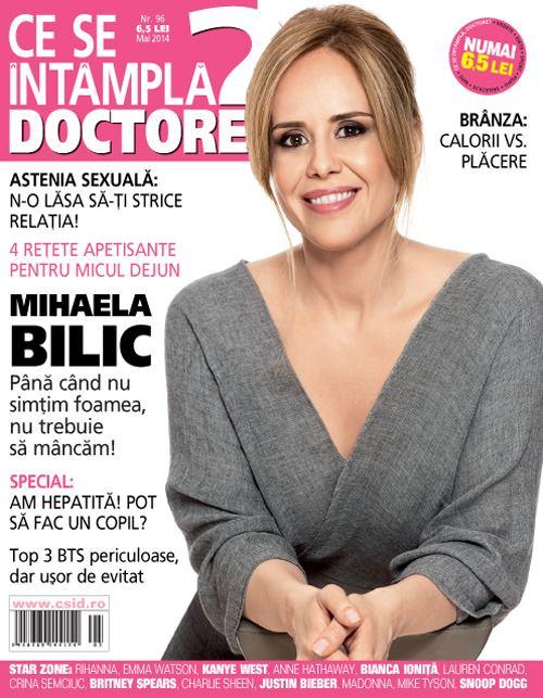 Ce se intampla, Doctore? ~~ Coperta: Mihaela Bilic ~~ Mai 2014