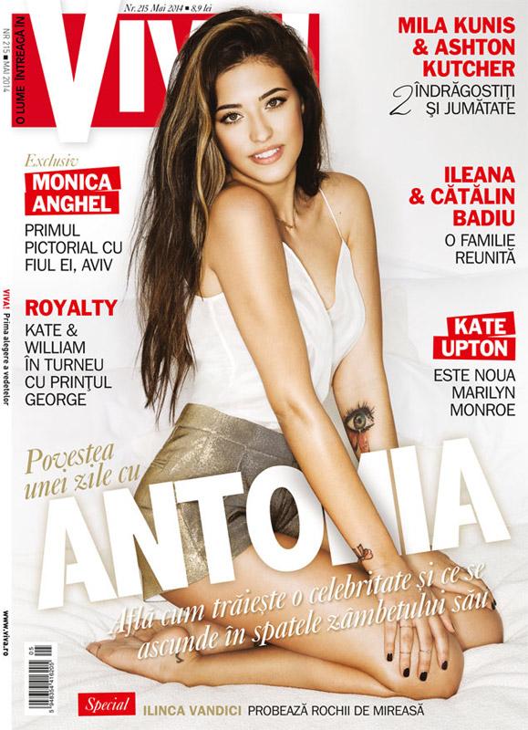 VIVA! Romania ~~ Coperta: Antonia ~~ Mai 2014