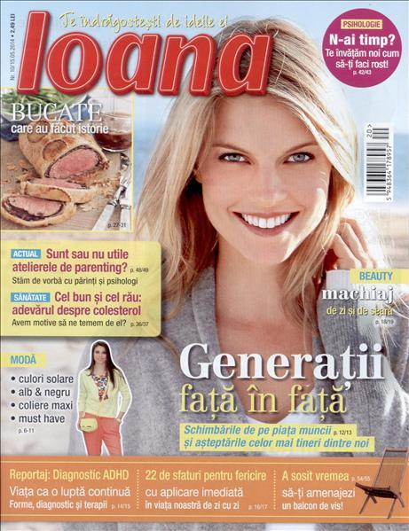Ioana ~~ Generatii fata in fata ~~ 15 Mai 2014