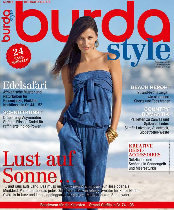 Burda Style Germania ~~ Iunie 2014