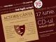 CD-ul ACTORII CANTA ~~ Campania Nationala  ARTISTII PENTRU ARTISTI ~~ 17 Iunie 2014 ~~ Pret: 8 lei