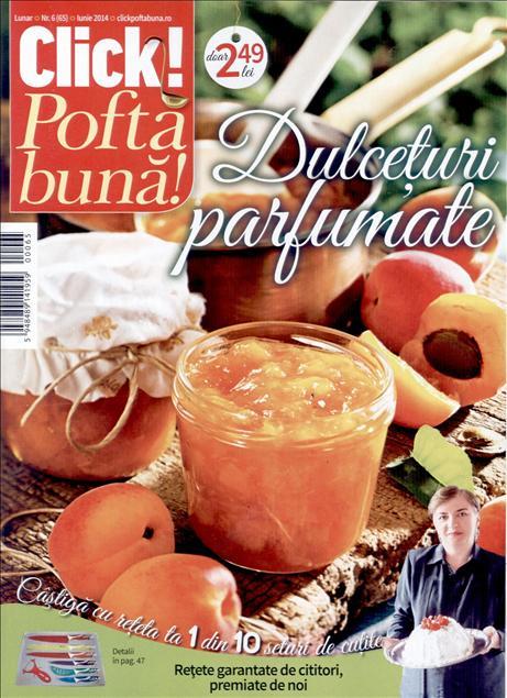 Click Pofta buna! ~~ Dulceturi parfumate ~~ Iunie 2014
