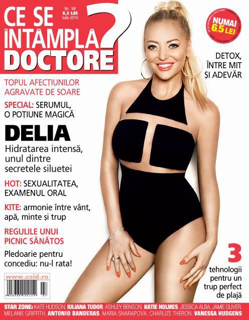 Ce se intampla, Doctore? ~~ Coperta: Delia ~~ Iulie 2014