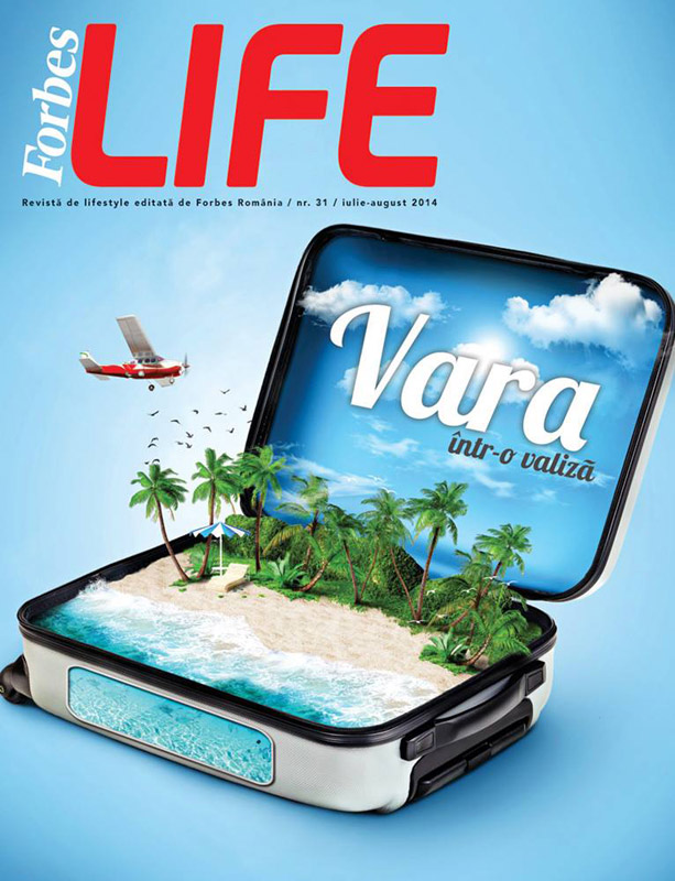 Forbes Life Romania ~~ Iulie-August 2014