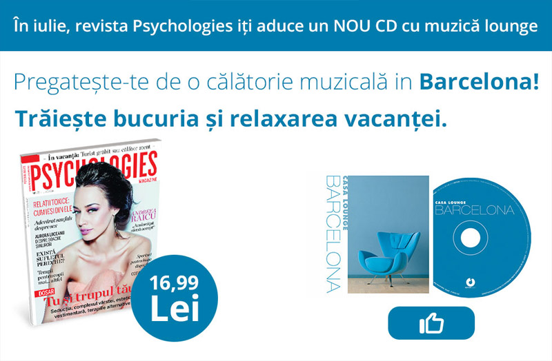 Promo pentru revista Psychologies Magazine Romania ~~ Iulie 2014 ~~ Pret pachet: 17 lei