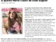 Promo pentru revista Marie Claire Romania, editia Iulie-August 2014