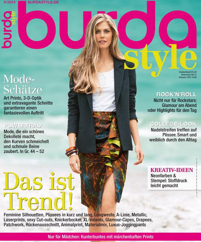 Burda Style Germania ~~ August 2014