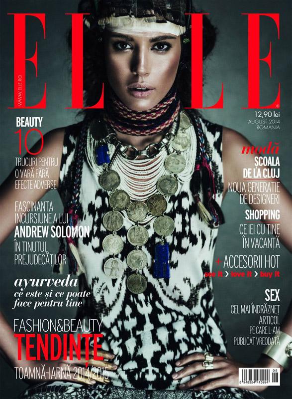 ELLE Romania ~~ Fashion & Beauty, Tendinte Toamna-Iarna 2014/2015 ~~ August 2014