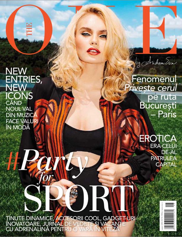 The One Magazine ~~ #PartyforSport ~~ August 2014