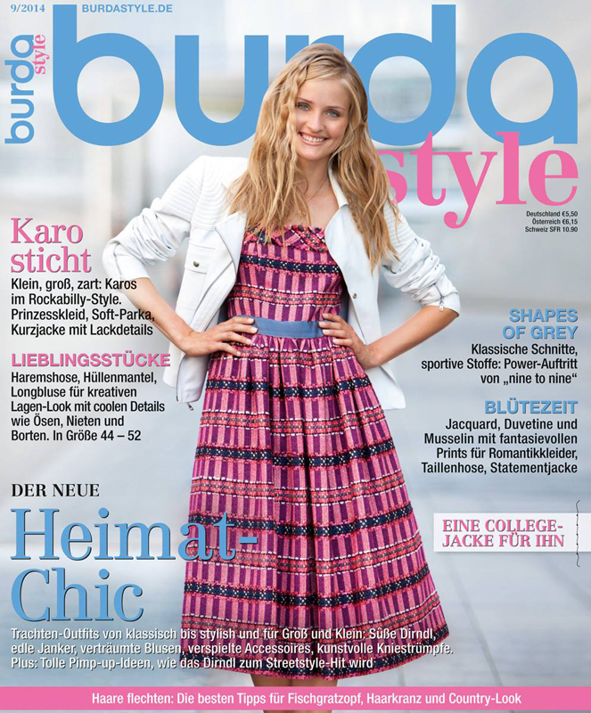 Burda Style Germania ~~ Shapes of Grey ~~ Septembrie 2014