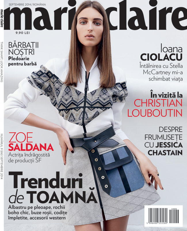 Marie Claire Romania ~~ Trenduri de toamna ~~ Septembrie 2014