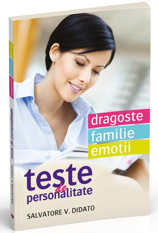 Cadoul revistei Psychologies Romania ~~ Cartea: TESTE DE PERSONALITATE ~~ Septembrie 2014 ~~ Pret: 17 lei