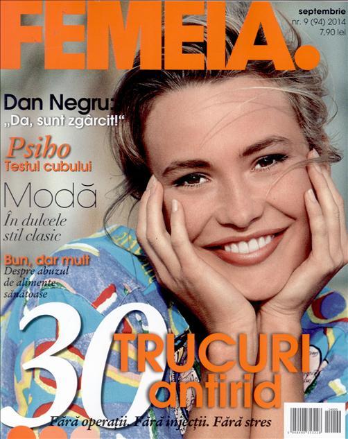 Revista FEMEIA. ~~ 30 de trucuri antirid ~~ Septembrie 2014