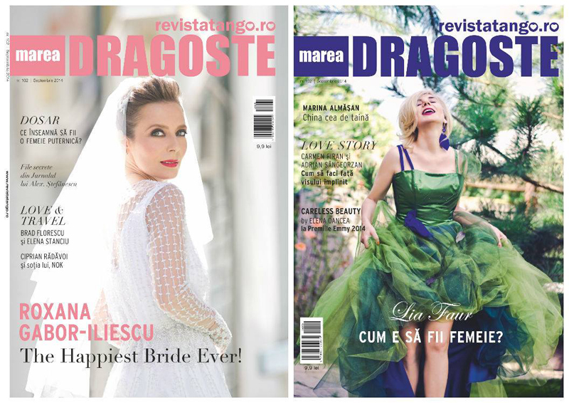 Tango - Marea Dragoste ~~ Coperta: Roxana Gabor-Iliescu si Lia Faur ~~ Septembrie 2014