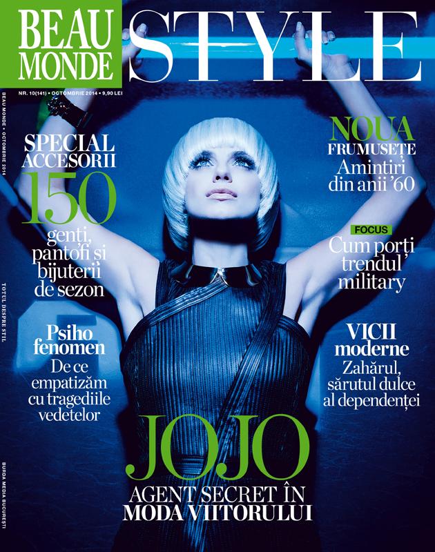 Beau Monde Style ~~ Coperta: JOJO ~~ Octombrie 2014