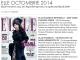 Promo pentru revista ELLE Romania, editia de Octombrie 2014
