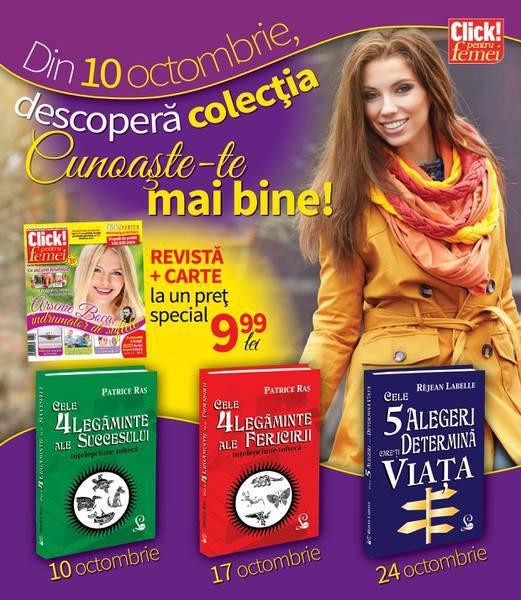 Colectia CUNOASTE-TE PE TINE ~~ 10-24 Octombrie 2014 ~~ Pret: 10 lei/volum