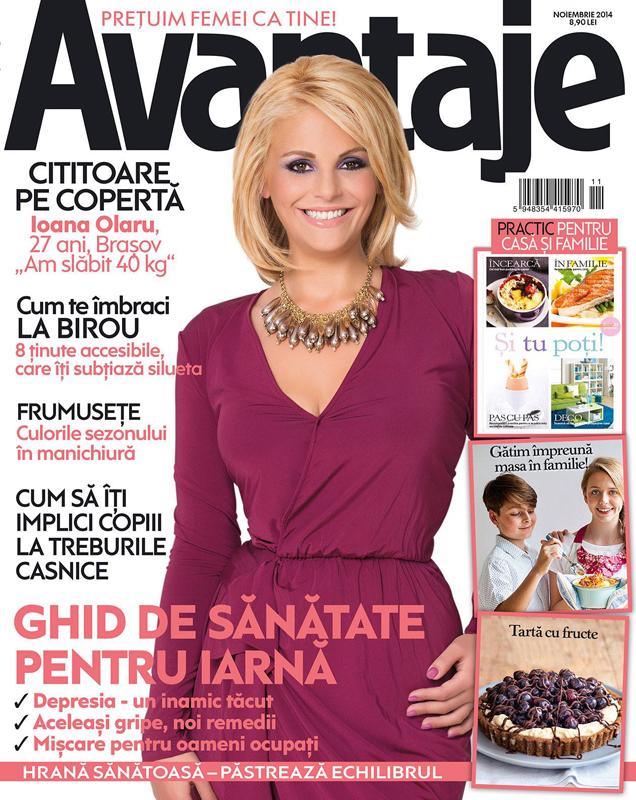 Revista AVANTAJE ~~ Ghid de sanatate pentru iarna ~~ Noiembrie 2014