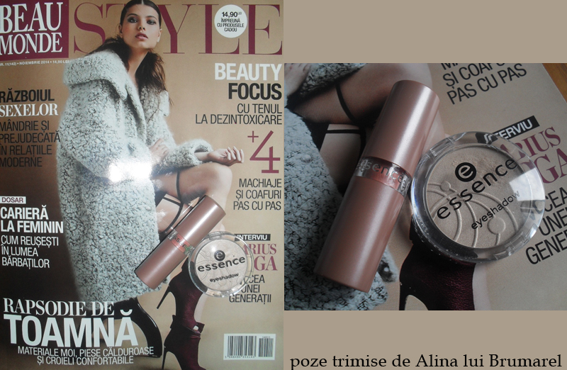 Cadourile Essence de la revista Beau Monde Style, editia de Noiembrie 2014 ~~ Pret: 15 lei