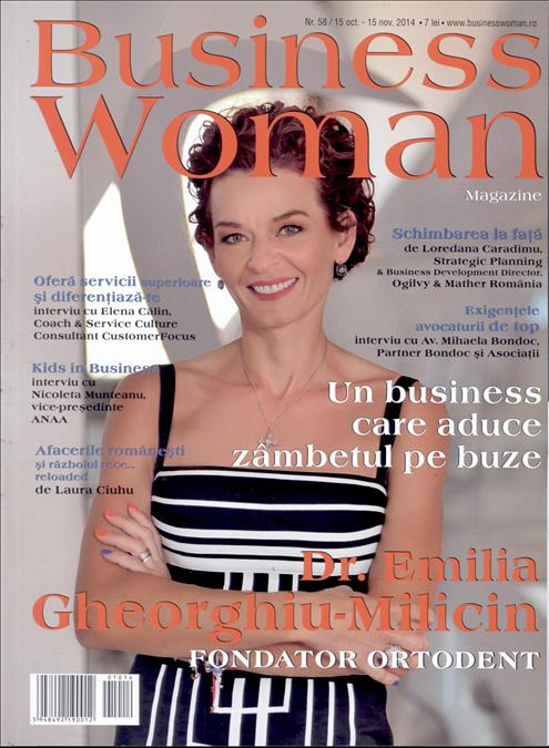 Business Woman Magazine ~~ Noiembrie 2014