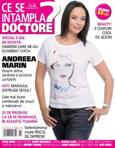 Ce se intampla, Doctore? ~~ Editie aniversara 9 ani ~~ Coperta: Andreea Marin ~~ Noiembrie 2014