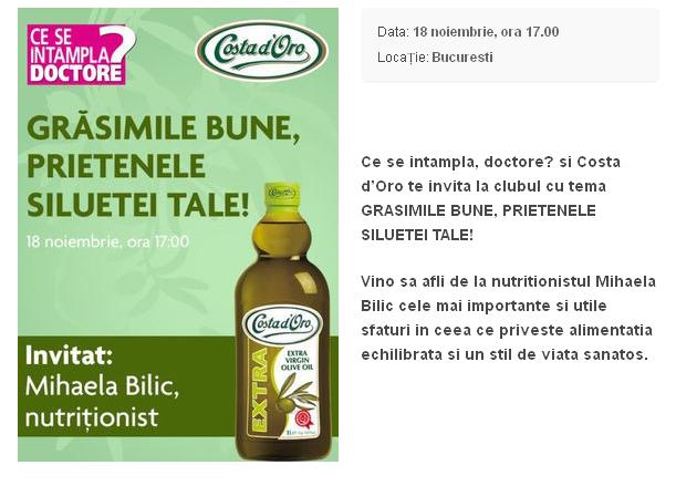 Club CSID ~~ Gasimile bune, prietenele siluetei tale! ~~ Bucuresti, 18 Noiembrie 2014