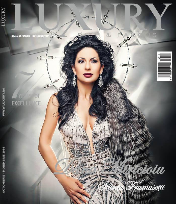 Luxury Magazine ~~ Coperta: Dana Miricioiu ~~ Octombrie-Noiembrie 2014
