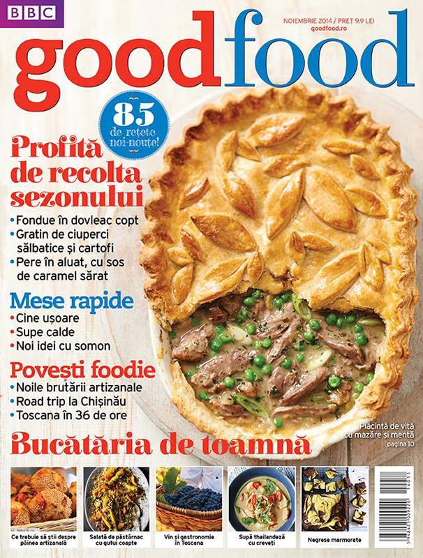 Good Food Romania ~~ Profita de recolta sexonului ~~ Noiembrie 2014 Pret: 9,90 lei