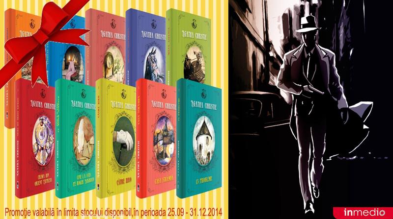 Promotie Inmedio pentru cartile Agatha Christie ~~ 25 Septembrie - 31 Decembrie 2014