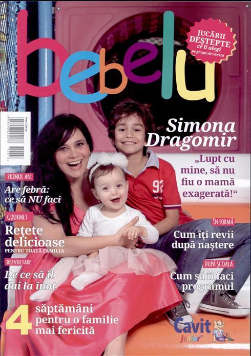 BEBELU ~~ Coperta: Simona Dragomir ~~ Noiembrie 2014 ~~ Pret: 8 lei