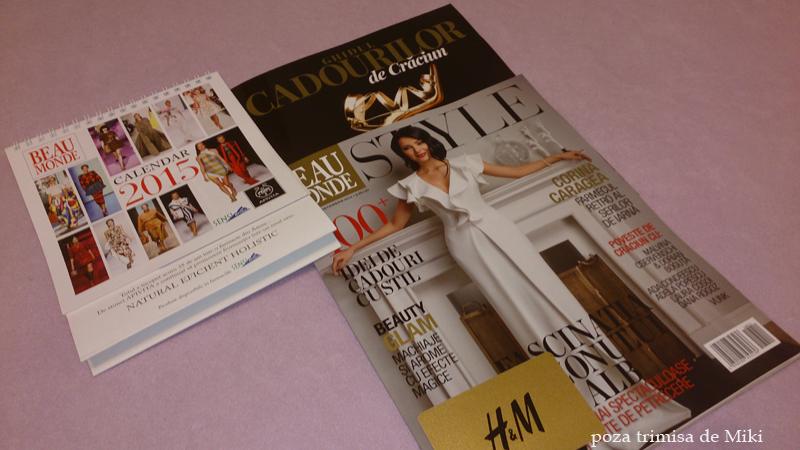 Inserturile revistei Beau Monde Style, editia de Decembrie 2014 ~~ Pret pachet: 10 lei