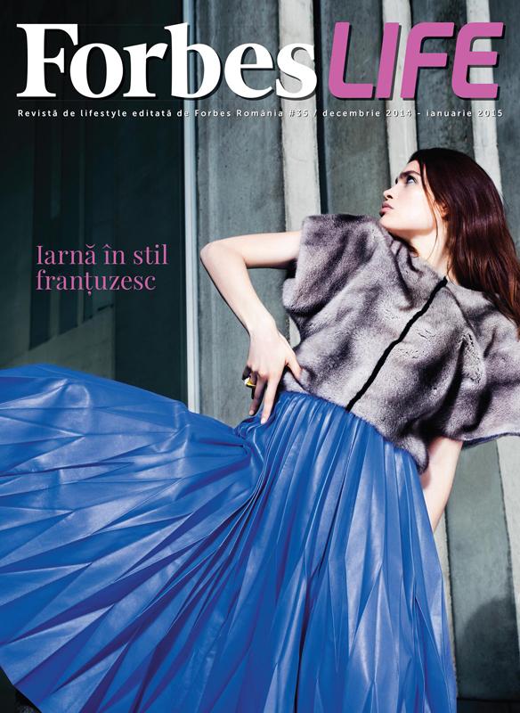 ForbesLife Romania ~~ Iarna in stil frantuzesc ~~ Decembrie 2014 - Ianuarie 2015