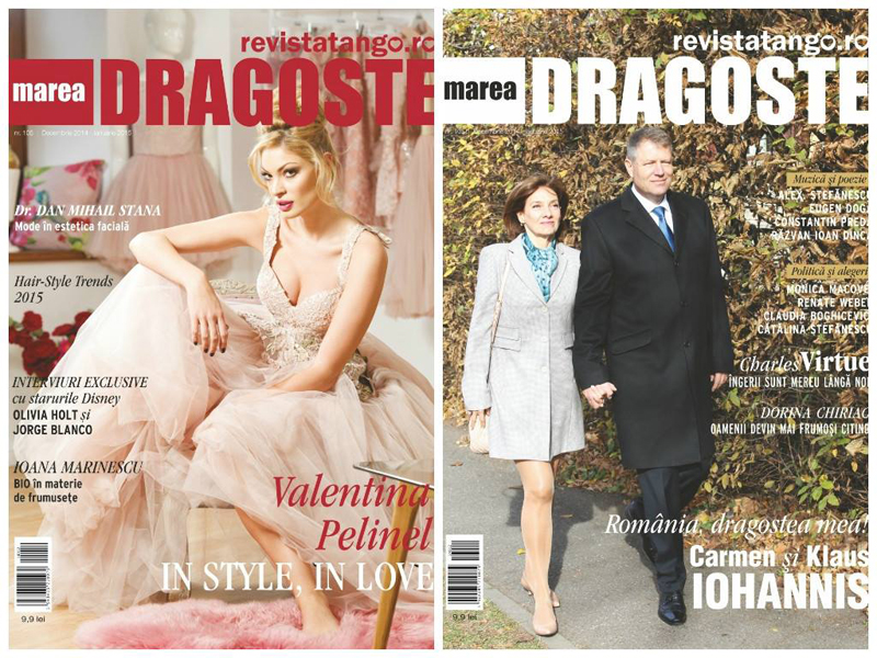 Tango Marea Dragoste ~~ Coperta: Valentina Pelinel ~~ Decembrie 2014 - Ianuarie 2015