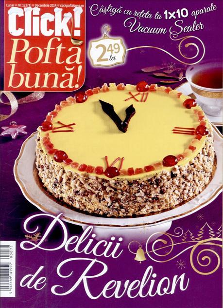 Click Pofta Buna! ~~ Delicii de Revelion ~~ Decembrie 2014 ~~ Pret: 2,50 lei