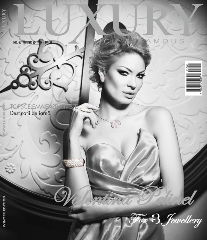 Luxury ~~ Coperta: Valentina Pelinel ~~ Iarna 2014-2015